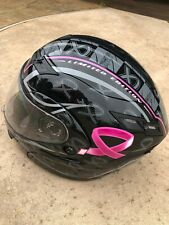 Helmet GMax Pink Ribbon Riders Women's Limited Edition Sz M Motorcycle 54s