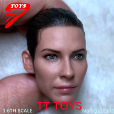 TT TOYS 1:6 Ant-Man 2 The Wasp Female Head Sculpt Carved Fit 12'' Doll