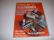 POPULAR ELECTRONICS Magazine, August, 1963, BUILD A BETTER B.F.O., CB EQUIPMENT!