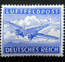 Germany Nazi 1942 1943 Stamp MNH MILITARY AIR POST Junkers 52 Transport MAP1 WWI
