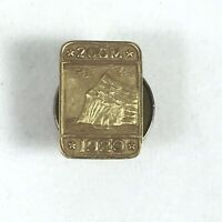 1929 Award Lapel Pin 200M Gold Sales Prudential Insurance Rock of Gibraltar