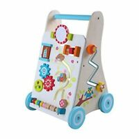 LEOMARK BABY FIRST STEPS ACTIVITY WALKER WOODEN AGE 1 YEARS +