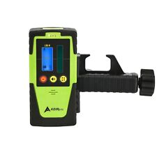 AdirPro Green Beam Rotary Laser Receiver Detector Dual display Topcon Leica