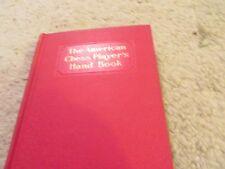 Vintage Allan Troy Chess Book-Ed #3-American Chess Players' Handbook 5/22