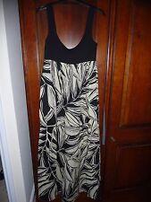 ASOS black and white maxi dress. Size 6