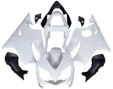 White Fairing Kit Bodywork Cowl For Honda CBR600 F4i 2001 2002 2003 Unpainted
