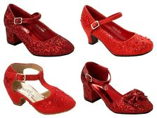 girls red glitter shoes | eBay