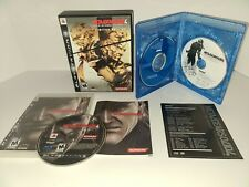 Metal Gear Solid 4: Guns of the Patriots Limited Edition PS3 Complete cib.