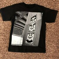 Obey  Black T Shirt