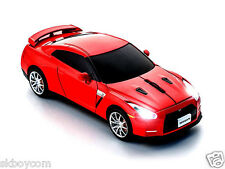 Funk 2,4 GHz PC Maus Nissan GT-R (R35) (Rot) Wireless Mouse CCM660271