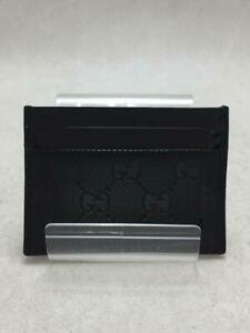 Gucci 224125  Black Fashion Card case 1687 From Japan