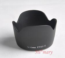 ET-60 II lens hood For Canon EF75-300MM F/4-5.6 II USM EF-S 55-250MM F/4-5.6 IS