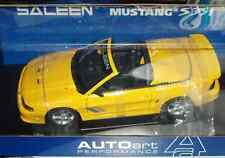 AUTO ART 1998 FORD SALEEN MUSTANG S351 CONV 1/18 YELLOW VHTF
