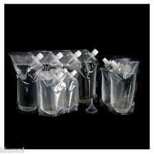 Blasani TM Concealable Plastic Cruise Rum Sneak Flask Set (4x32oz, 2x16oz, 2x8oz