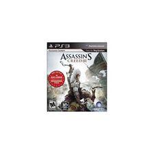 Assassin's Creed III -- Freedom Edition (Sony PlayStation 3, 2012)