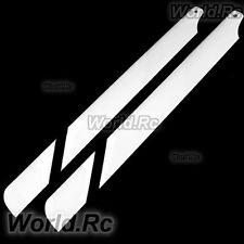 325 mm verre fibre lame principale pour Trex 450 SE V2 V3 Pro Sport RC Heli blanc noir