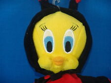 WARNER BROS. TWEETY BIRD LADYBUG COSTUME PLUSH STUFFED ANIMAL CARTOON TOY