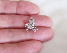 Sterling Silver 17mm 3d Pegasus small pendant
