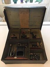 Ernst Plank Toy Steam Engine Set No. 501/2 w/ Original Box - Early 1900's