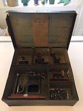 Ernst Plank Toy Steam Engine Set No. 501/2 w/ Original Box - Early 1900's