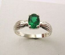 Emerald Lab-Created/Cultured Fine Rings
