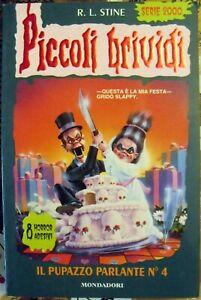 Il pupazzo parlante N° 4 Piccoli brividi 64 libri ragazzi horror super Slappy