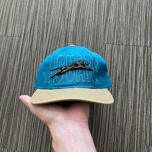 Vintage Starter Jacksonville Jaguars Snapback Hat Teal Gold 1995
