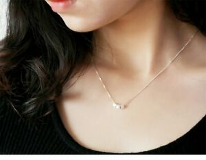 Genuine 925 Sterling Silver Cubic Dice Pendent Snake Chain Necklace CURB ROPE UK