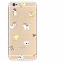 Ultra Thin Crystal Clear Pattern Soft TPU Case Cover For iPhone 5/6/7/8/X Note 8