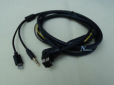 PIONEER IP-BUS 8-PIN LIGHTNING iPHONE 6S 6 5 AUX CABLE AVH-P7500DVD AVH-P7550DVD