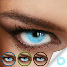 Farbige Kontaktlinsen Naturally Sweet Aqua (Stärke von 0.00 DPT bis -12.00 DPT)