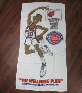 Detroit Pistons Nba Towels For Sale Ebay