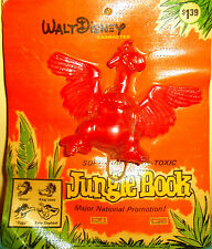 New Vintage 1966 Disney Jungle Book Ziggy Oily Jiggler Rubber (Russ Berrie) MOC