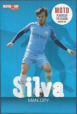 MOTD-POSTER 2016/17-PLAYER OF THE YEAR-MANCHESTER CITY & SPAIN-DAVID SILVA