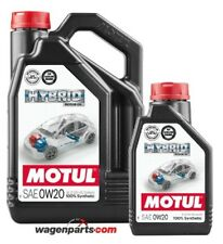 Aceite motores hibridos gasolina, Motul HYBRID 0W20 Toyota, pack 5 Litros