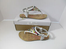 AUTHENTIC JESSICA SIMPSON KAMBRIA GIRL'S SANDALS SIZE 3 NIB MSRP $40