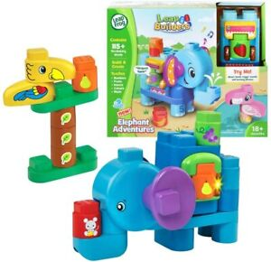 NEW Leapfrog Leapbuilder Elephant And Friends Learning Playset Birthday Gift