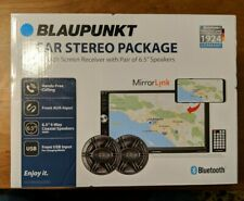 "Blaupunkt Touch Screen Car Stereo Package - 7"" Screen & 6.5"" Speakers -..."