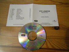 UTE LEMPER - BUT ONE DAY / 14 TRACK LIMITED-CD 2002!