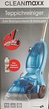 CLEANmaxx Teppichreiniger 500 W in Blau ohne Teppichshampoo, B-Ware