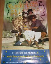 Funk Lab All Stars .Funktrack, orig promotional poster, 1991, 16x24, Ex, rap