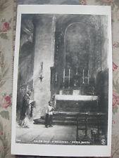 "CPA tableau Salon peinture 1906 H Rousseaau ""Messe basse"""
