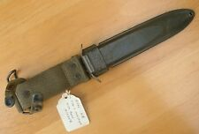 RARE US WWII M3 FIGHTING KNIFE SCABBARD M8 MODIFIED