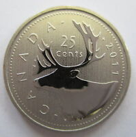 2011 CANADA 25 CENTS SPECIMEN QUARTER COIN