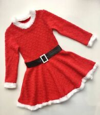 Santa Claus Winter Dresses (2-16 Years) for Girls