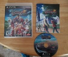 Legend of Heroes: Trails of Cold Steel (Sony PlayStation 3, 2015). RPG. Rare