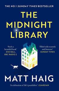 The Midnight Library Matt Haig Paperback 2021 Free Shipping Paperback