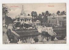 Jain Temple Calcutta India Vintage Postcard 353b