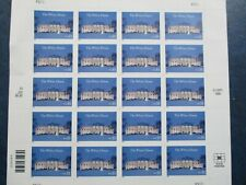 WHITE HOUSE  sheet of stamps  #3445