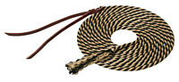 Weaver Leather Silvertip Get Down Lead Rope, Leather Popper, 14', 30-2500